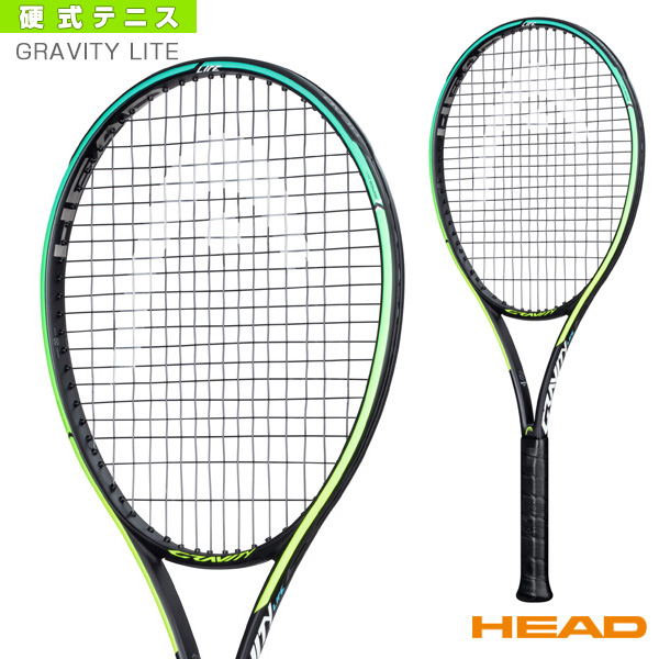 テニス ラケット ヘッド 2021年03月上旬 予約 Graphene 公式ストア 360 233851 ライト グラビティ GRAVITY 国内送料無料 グラフィン LITE