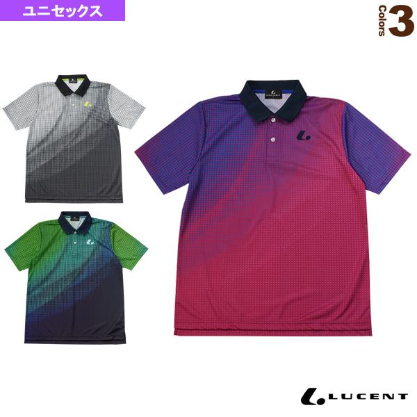本物◆ テニス バドミントン 秀逸 ウェア メンズ ユニ ゲームシャツ ルーセント ユニセックス XLP-856