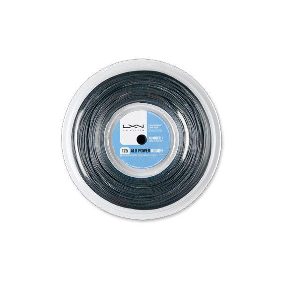 【テニス ストリング(ロール他) ルキシロン】LUXILON ルキシロン/ALU POWER ROUGH 125/アル・パワー・ラフ/220m ロール(WRZ990200)