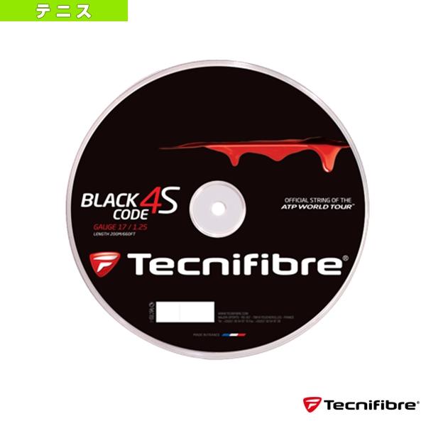 【テニス ストリング(ロール他) テクニファイバー】 ブラックコード 4S/BLACK CODE 4S/200mロール(TFR516/TFR517/TFR518)ガットロールガットポリ