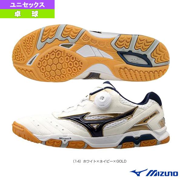 【卓球 シューズ ミズノ】ウエーブ メダル SP3/WAVE MEDAL SP3/ユニセックス(81GA1512)
