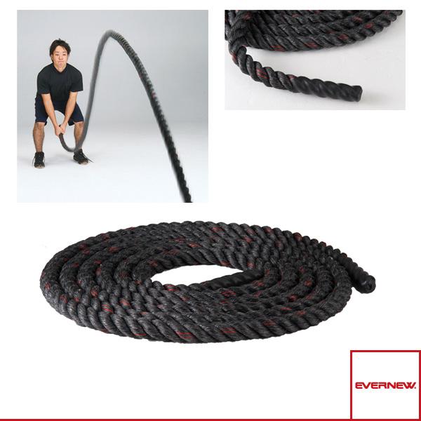 【オールスポーツ トレーニング用品 エバニュー】 [送料別途]トレーニングロープ 9m/初心者・女性向(ETB596)