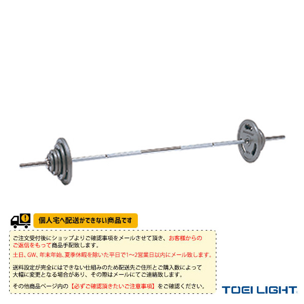 【フィットネス トレーニング用品 TOEI(トーエイ)】[送料別途]バーベルプレートST W900セット/41.5kgセット(H-7196)