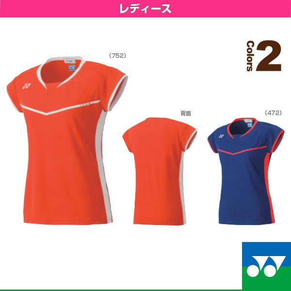 [尤尼克斯网球·羽毛球服装(男子的/Uny)]合身衬衫/女士(20323)