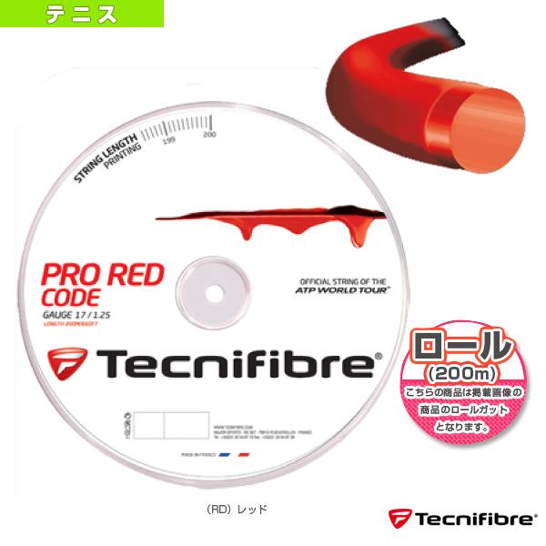 【テニス ストリング(ロール他) テクニファイバー】PRO REDCODE 200m/プロ レッドコード 200mロール(TFR500/TFR501/TFR502)