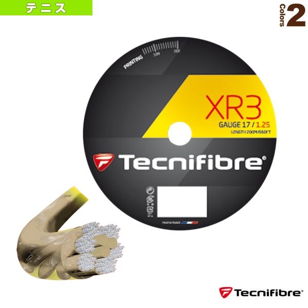 【テニス ストリング(ロール他) テクニファイバー】XR3 200m/エックスアール3 200mロール(TFR910/TFR911)