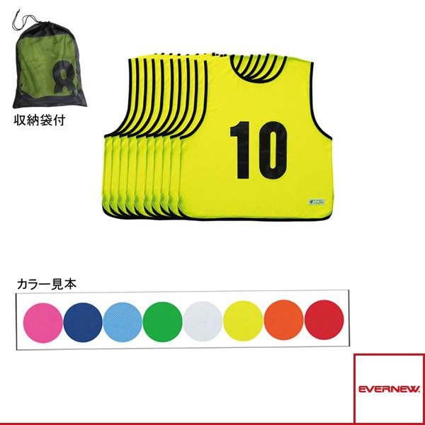 【オールスポーツ ジュニアグッズ エバニュー】エコエムベスト Jr1-10/単色10枚組/ジュニア用(EKA903)