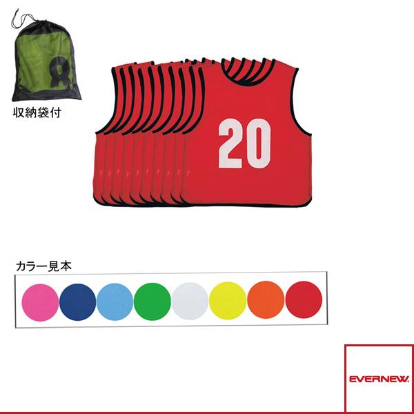 【オールスポーツ ジュニアグッズ エバニュー】エコエムベスト Jr11-20/単色10枚組/ジュニア用(EKA904)