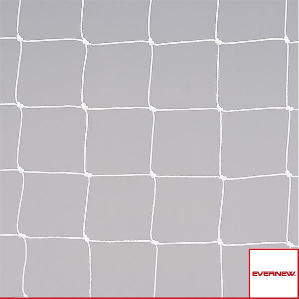 【サッカー 設備・備品 エバニュー】ジュニアサッカーゴールネット J107/角目タイプ/2枚1組(EKE819)