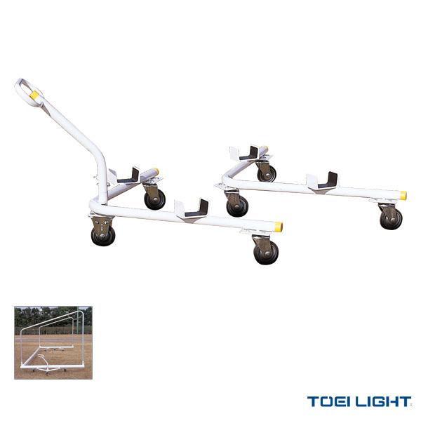【サッカー 設備・備品 TOEI(トーエイ)】 [送料別途]サッカーゴール運搬車/2台1組(B-4375)