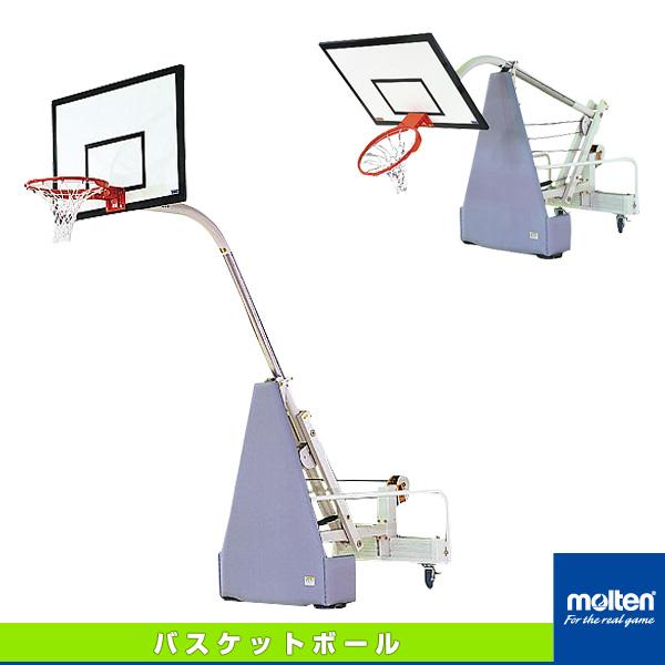 【バスケットボール 設備・備品 モルテン】[送料お見積り]ミニバスケット台/2台1組(ZBGM)