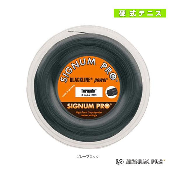 【テニス ストリング(ロール他) シグナムプロ】 トルネード/Tornado/200mロール(ポリエステル)ガット