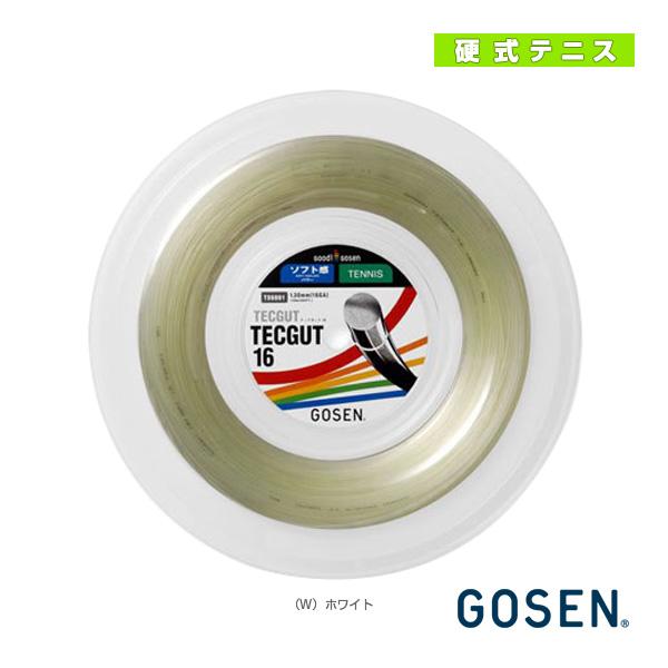 【テニス ストリング(ロール他) ゴーセン】テックガット 16/TECGUT 16/120mロール(TS6001)