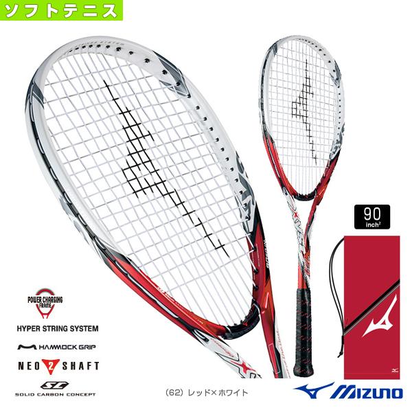 【ソフトテニス ラケット ミズノ】 ジスト T1/Xyst T1(63JTN521)軟式ラケット軟式テニスラケットパワー