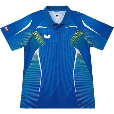毎週更新 吸汗速乾性に優れ動きやすさを追求したゲームシャツ バタフライ カペレシオンシャツ44970 ブランド激安セール会場 卓球ゲームシャツ
