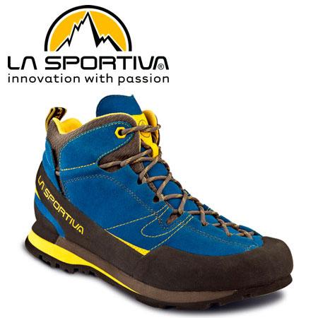 スポルティバ/ボルダーエックスミッドGTX (ボルダーXミッドゴアテックス) LA SPORTIVA/BOULDER X MID GTX 登山靴・トレッキングシューズ・アウトドア/メンズ 17EBY