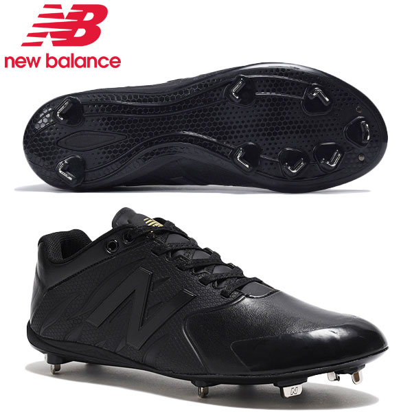 NEWBALANCE/AB100 BLACK ニューバランス/野球スパイク 金具 樹脂底