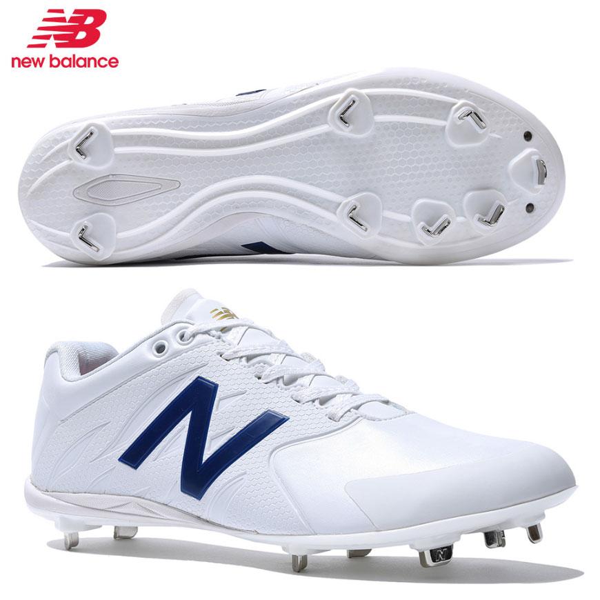 NEWBALANCE ニューバランス AB100 WHITE 野球スパイク・カラースパイク 金具 樹脂底 /お取り寄せ商品
