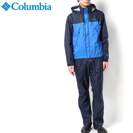 【SALE】コロンビア/シンプソンサンクチュアリレインスーツ 【メンズ レインウェアー上下セット(男性用登山用雨具/雨カッパ)】Columbia PM0124