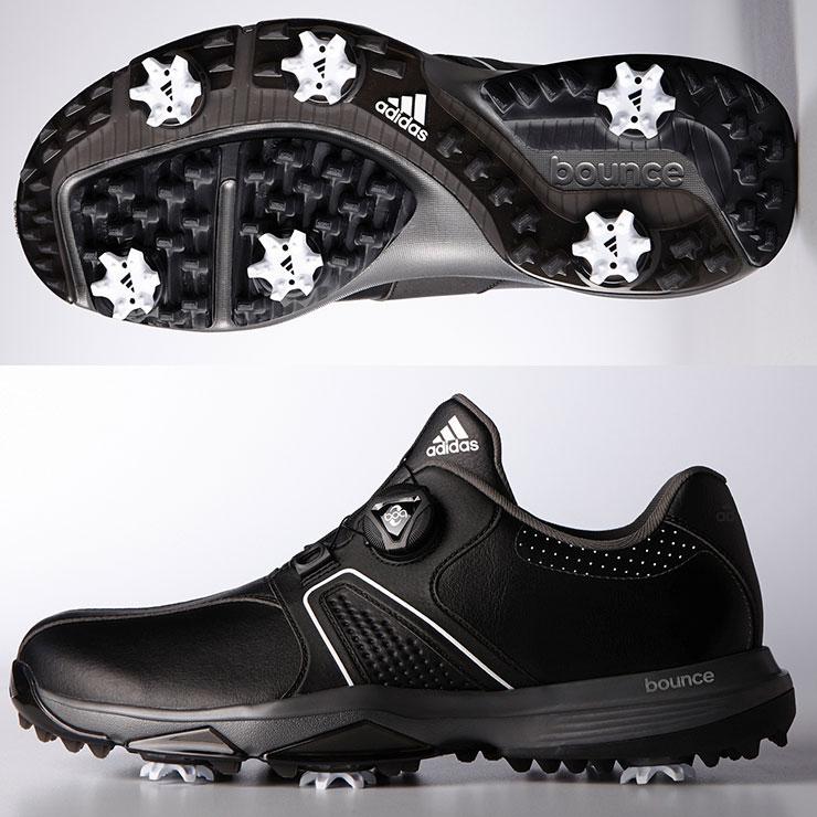 ADIDAS/360トラクション ボア ワイド Q44728 アディダス/ゴルフシューズ・ゴルフスパイク/ソフトスパイク・メンズ
