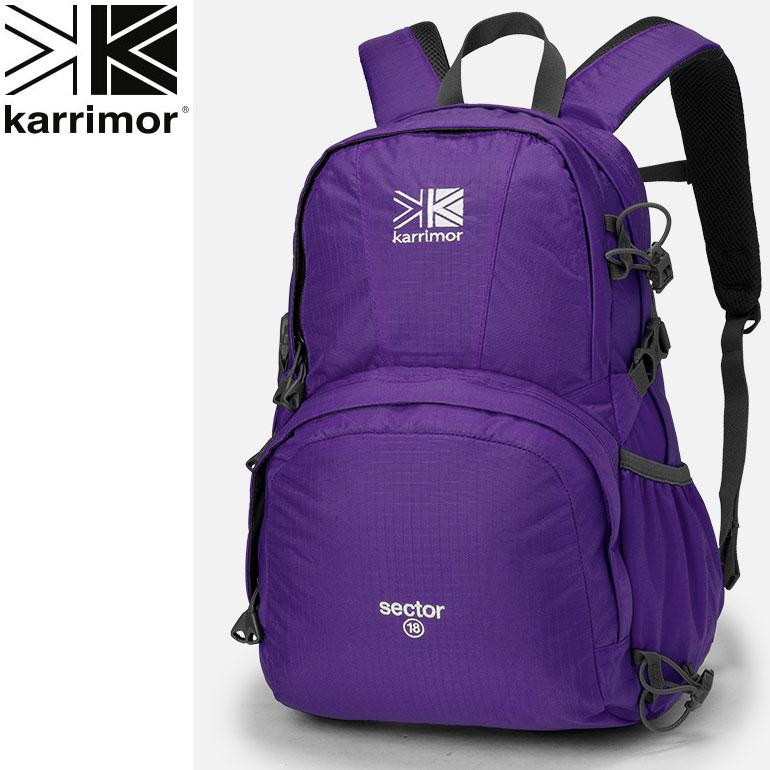 karrimor カリマー sector18 セクター18 バイオレット リュック ザック アウトドア