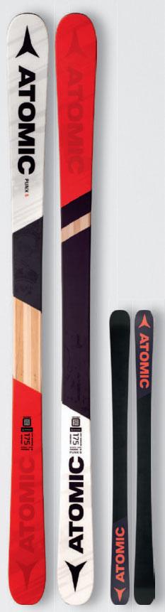 17-18モデル ATOMIC PUNX FIVE パンクス5 サイズ170 アトミック スキー 2018 板単品