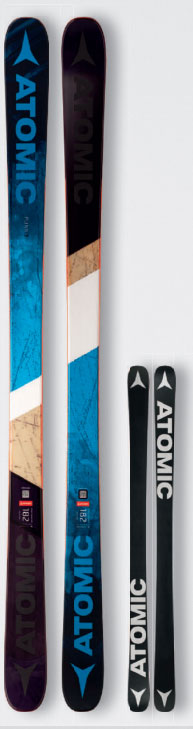 【ポイント5倍/】17-18モデル ATOMIC PUNX SEVEN パンクス7 サイズ176 アトミック スキー 2018 板単品