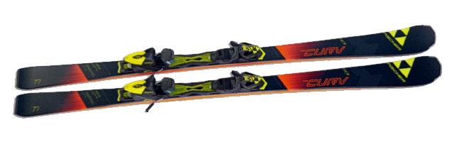 17-18 FISCHER RC4 THE CURV TI (171cm) フィッシャー スキー板+金具セット