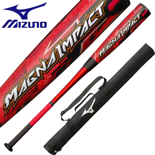 2020年3月発売 新作 ミズノ 一般軟式バット マグナインパクト 軟式野球 バット 1CJFR104