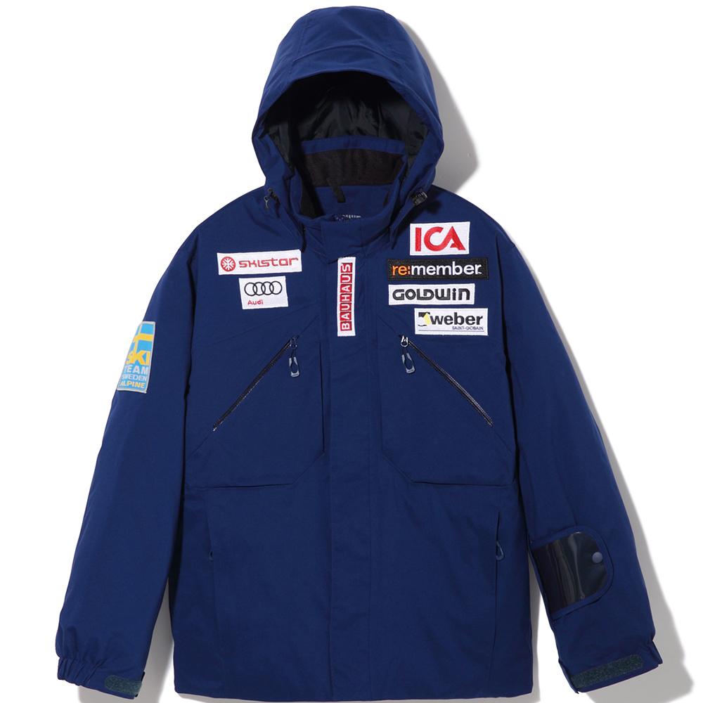 【SALE】17-18 GOLDWIN/ジュニア スウェーデンレプリカ GJ11705P ゴールドウイン/スキーウェア スキージャケット・ジュニア