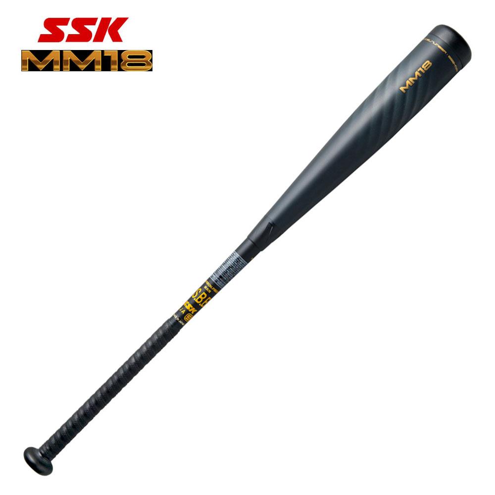 2020年 新作 エスエスケイ 少年軟式バット MM18 少年野球 SBB5039