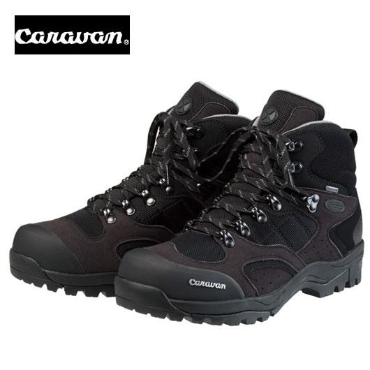 caravan キャラバン C1_02S ブラック/シルバー トレッキングシューズ C102S