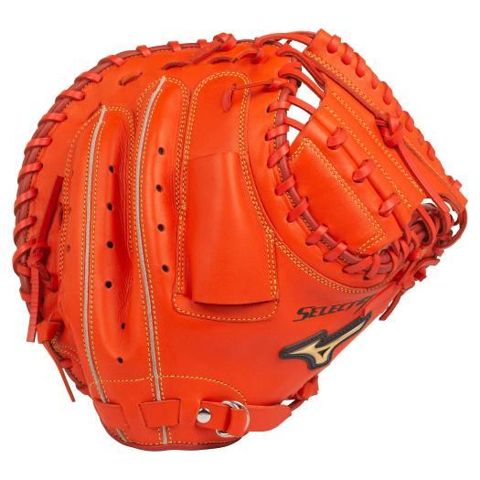 ミズノ 一般軟式 キャッチャーミット セレクトナイン 右投げ 軟式野球 中学・一般 大人 1AJCR22700-52