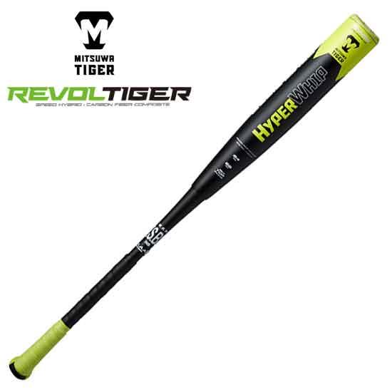 2020春夏 美津和タイガー 一般軟式バット ハイパーウィップ ワンサイド ダブル 軟式野球バット MT7HRB11