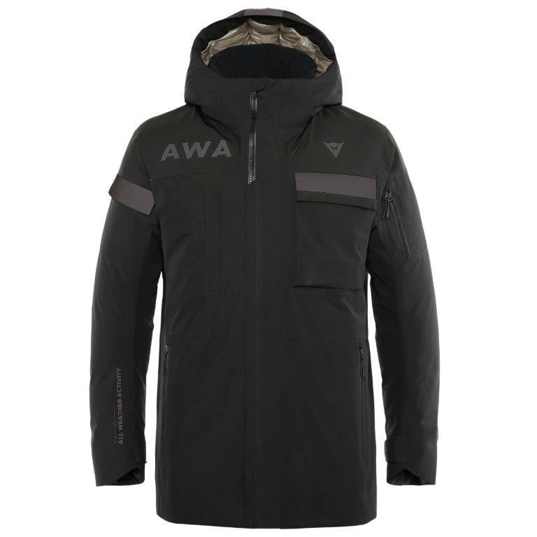 Dainese ダイネーゼ AWA BLACK PARKA メンズ スキーウェア ジャケット 4749474 /お取り寄せ商品D