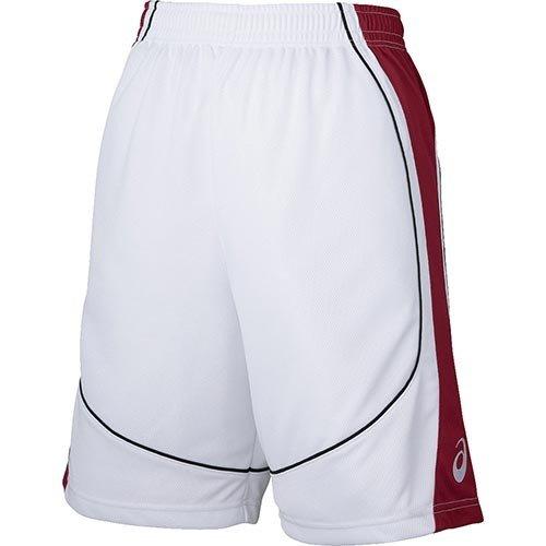 P10倍+お得クーポン アシックス メンズ バスケットボール 0124 驚きの値段で ゲームパンツ XB1860 当店限定販売