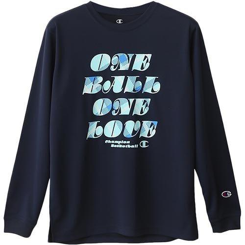 倉 P5倍+10%OFFクーポン 送料無料 新品 チャンピオン ジュニア バスケットボール 370 ロングスリーブTシャツ 長袖 CK-NB419