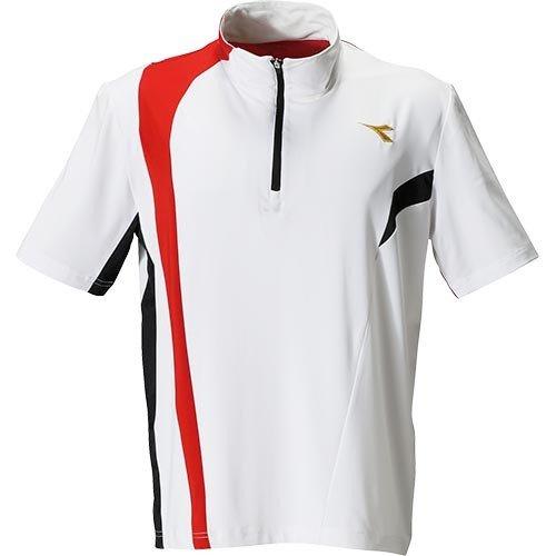 本店 P2倍+10%OFFクーポン 値下げしました 1 27 ディアドラ メンズ テニス バドミントン 90 安心と信頼 ゲームシャツ DTG9385 ウェア