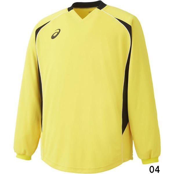 P5倍+10%OFFクーポン アシックス サッカー 04 セール特価品 GKシャツ XS1192 新着