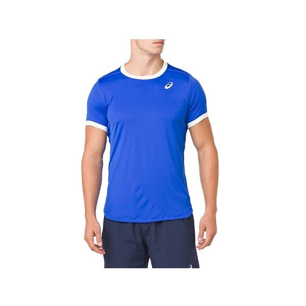 テニスウェア 半袖 P2倍+10%OFFクーポン アシックス メンズ テニス 2041A037 ショートスリーブトップス CLUB ウェア オープニング 大放出セール 400 発売モデル