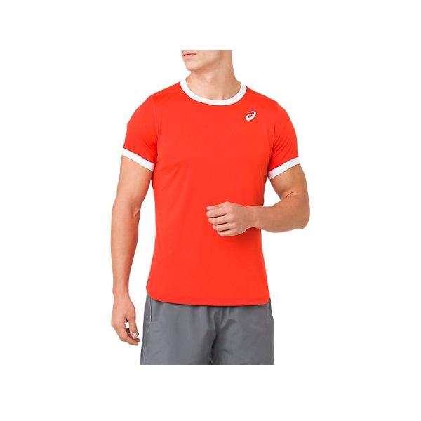 テニスウェア 半袖 P2倍+10%OFFクーポン アシックス メンズ テニス ショートスリーブトップス 送料無料(一部地域を除く) ウェア 即出荷 2041A037 CLUB 800