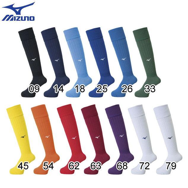 20%OFF サッカー フットサルウェア いよいよ人気ブランド ソックス 靴下 P2MX8060 高い素材 サッカーストッキング 27-29cm フットボールソックス ミズノ