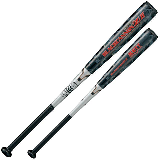 軟式バット FRP製 ZETT/ゼット 野球 ヘッドバランス トップバランス ブラックキャノン Z2 軽量 一般 大人 BCT35913-1900