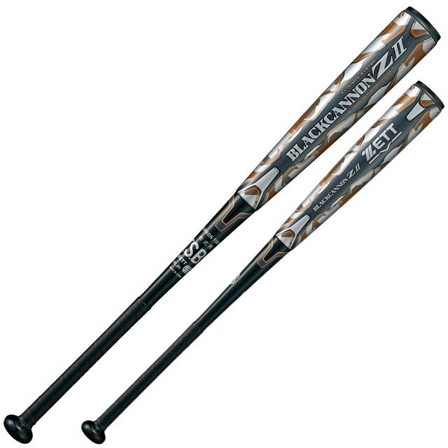 軟式バット FRP製 ZETT/ゼット 野球 ミドルバランス ブラックキャノン Z2 一般 大人 BCT35924-1900