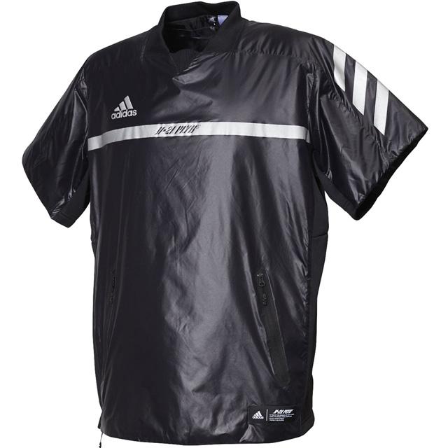 パデッド プラクティスジャケット アディダス 野球 5T 半袖 ジャケット トレーニングウェア 一般 大人 メンズ FYH47-ED3793