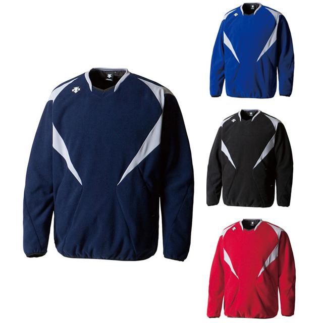 フリースジャケット トレーニングウェア デサント 野球 スポーツウェア 防風 保温 防寒 起毛 一般 大人 DBX2461B
