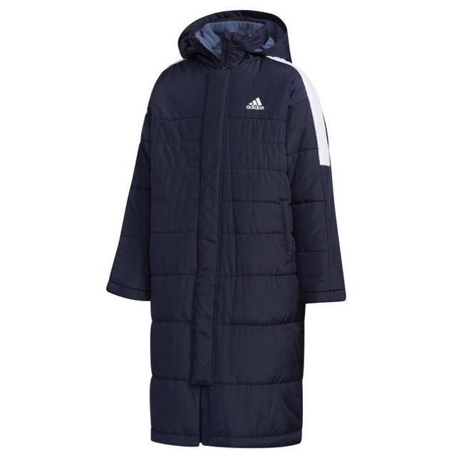 アディダス ジュニア Must Haves Boa Coat コート サッカー フットサル ウェア ネイビー ホワイト 【adidas2019FW】 FYQ40-EC9238