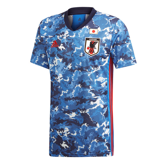 アディダス サッカー日本代表 2020 ユニフォーム レプリカホームジャージー 【adidas2020SS】 GEM11-ED7350
