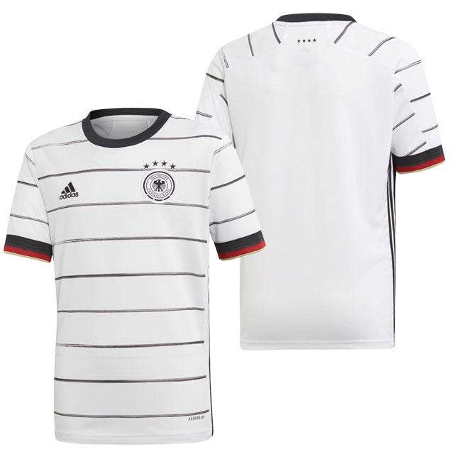アディダス サッカー ドイツ代表 2020 ホーム ジュニア レプリカユニフォーム 半袖 ホワイト 【adidas2020SS】 GEY87-EH6103