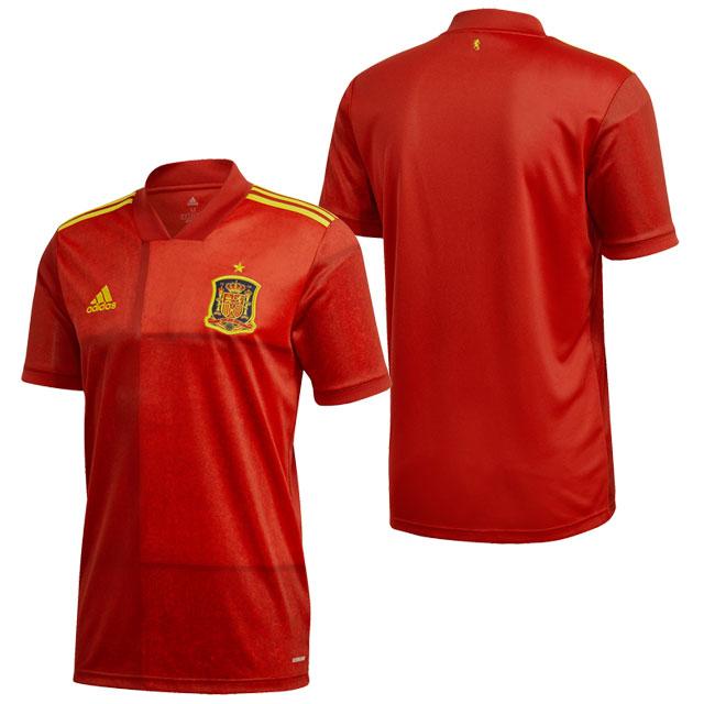 アディダス スペイン代表 2020 ホーム ユニフォーム レッド サッカー レプリカユニフォーム 半袖 【adidas2020SS】 KCM79-FR8361